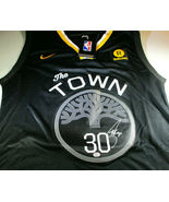 "STEPHEN CURRY / AUTOGRAPHED GOLDEN STATE WARRIORS 'THE TOWN"" LOGO JERSEY... - $247.50"