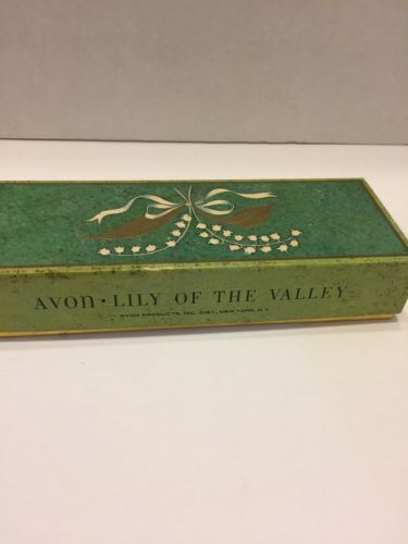 Avon Soap Lily Of The Valley One Box Perfumed Gift Set 2 Cakes Vtg  Never Used