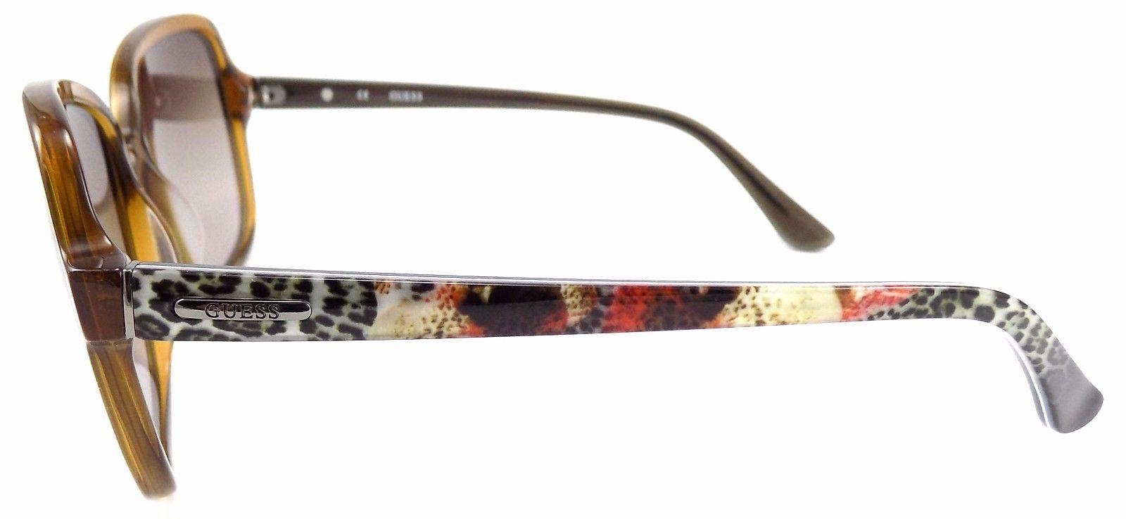 eec8b99f709be ... GUESS GU7382 45F Women s Sunglasses 60-16-135 Shiny Light Brown   Brown  Gradient ...