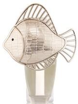 Bath & Body Works Shiny Fish Silver Nightlight Wallflower Outlet Plug In - $8.63
