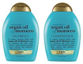 (OGX) Organix Shampoo Moroccan Argan Oil + conditioner, 13 oz combo - $31.87