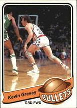 #34 Kevin Grevey 1979-80 Topps Basketball - $1.75