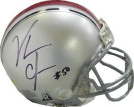 Vernon Gholston signed Ohio State Buckeyes Replica Mini Helmet - $37.95