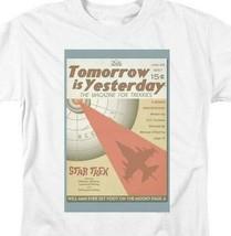 Star Trek T-shirt Tomorrow is Yesterday retro 60's Sc-Fi graphic tee CBS1956 image 2