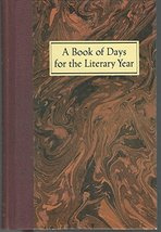 A Book of Days for the Literary Year Jones, Neal T. - $13.80