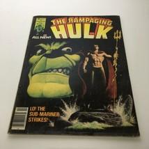 The Rampaging Hulk #5 Vol 1 1977 - $28.66