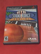 Strike Force Bolos Sony PS2 2004 Videojuego con / Instrucciones Envío Gr... - $9.41