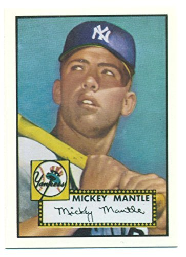 Primary image for 1991 Topps Mickey Mantle 1952 Rookie Reprint from the 1991 East Coast National -