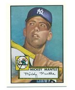 1991 Topps Mickey Mantle 1952 Rookie Reprint from the 1991 East Coast Na... - $1,262.25