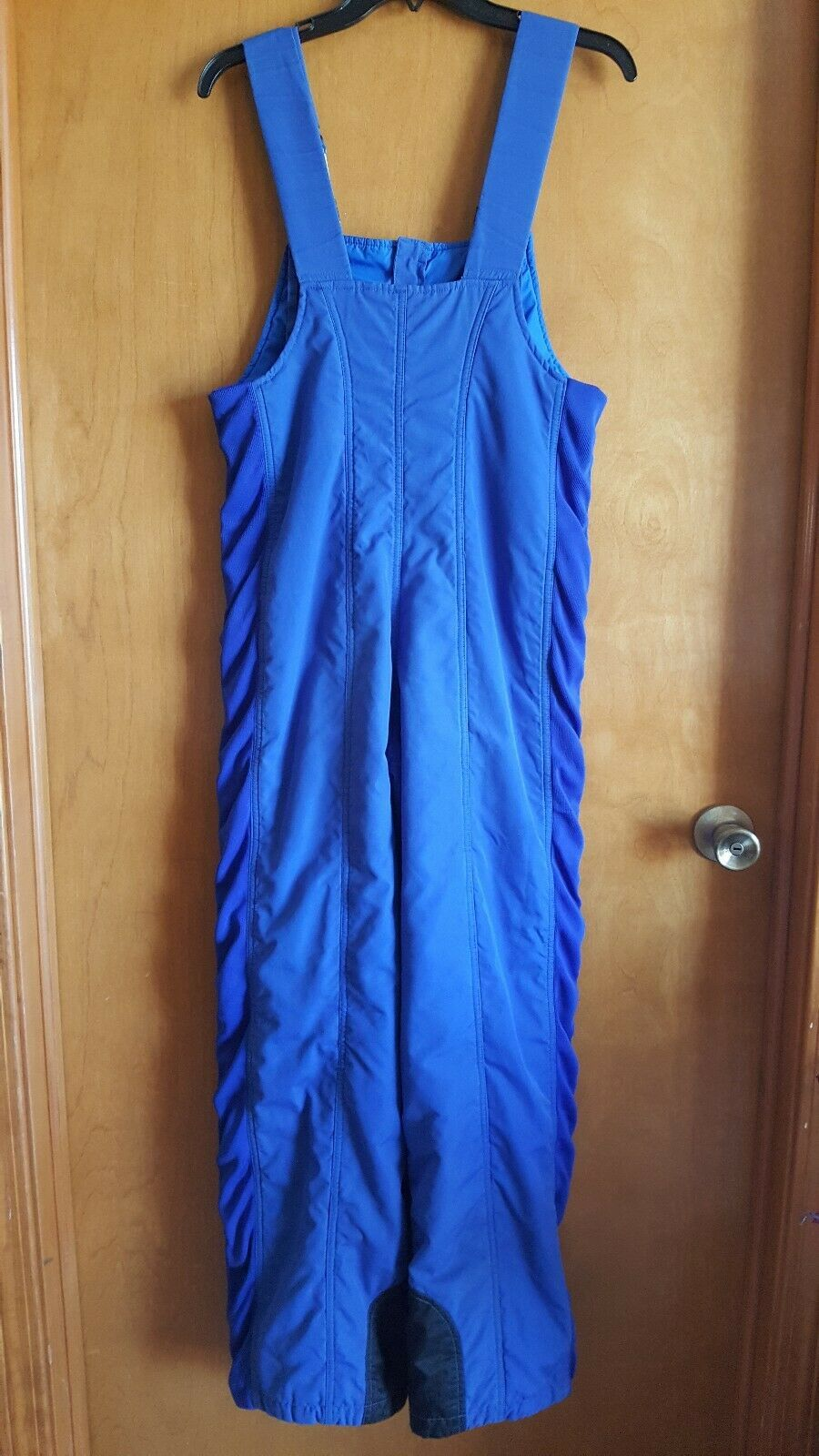 Vintage Womens Snow Ski Bibs Size 10 Blue by Powderhorn Mountaineering