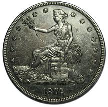 1877 T$1 Trade Dollar Silver Coin Lot# MZ 2565
