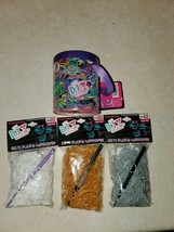 Expressions DIY 3000 pc Rubber Band Bracelet Refills w/ S Clips & Hook lot - $15.00