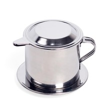 Coffee Maker Cup Stainless Steel Drip Filter Espresso Dripper Home Offic... - $9.40