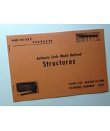 Vintage 1972 MIL-SCALE Products Authentic Scale Model RR Structures Catalog - $39.55