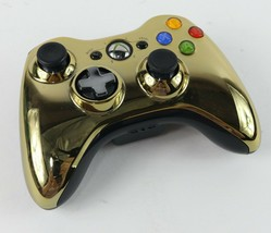 Microsoft Xbox 360 Gold Chrome Series Controller Star Wars C3PO Limited ... - $26.72