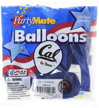 "California Golden Bears NCAA College University Sports Party 11"" Latex B... - $6.99"