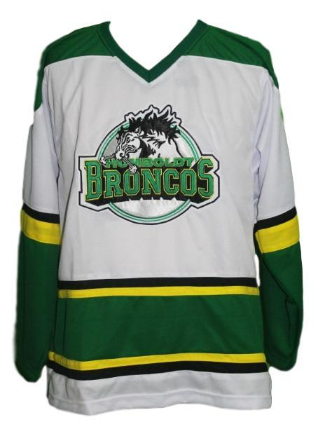 Any Name Number Humboldt Broncos Junior Hockey Jersey White Any Size