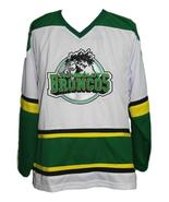 Custom Name # Humboldt Broncos Junior Hockey Jersey New White Any Size - $54.99+