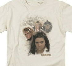 Labyrinth t-shirt Turn Back Sarah Retro 80's fantasy movie graphic tee LAB115  image 2