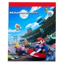 """Mario Kart Wii Officially Licensed 8"""" x 10"""" Sketch Pad - $4.51"""