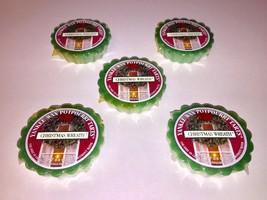 5 Yankee Wax Potpourri Tarts Christmas Wreath 0.8 Oz Wax Melts Sealed - $19.79