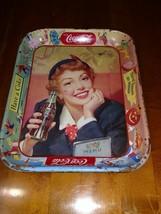 1950 Coca Cola Metal Serving Tray Thirst Knows No Season Have A Coke - $9.90