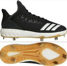 Adidas Boost Icon 4 Men's Baseball Cleats CG5157, Core Black/Cloud White/Carbon - $33.59