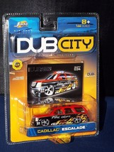 JADA Toys DUB City 2003 #034 Cadillac Escalade Red & Black Fire Dept. - $6.00