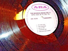 ARA The Mexicali Brass. Three complete mono long-playing record AA19-1501 Antiq image 5
