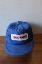 Vintage Watkins Freight Trucker Baseball Adjustable Patch Hat Cap -Made in USA - $25.99