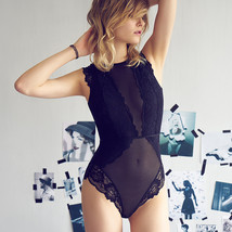 Sexy Mousse Brand Hot Shapers Thin Floral Hollow Out Ladies Sexy Lace Bo... - $33.80