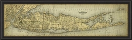 Artwork Early Map of Long Island BC New SC-790 ... - $999.00