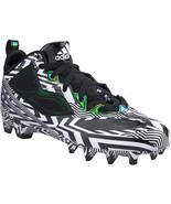 Men's Adidas RGIII Football Cleats D74341 MENS Size 8 Black  White RG3 NEW - $84.11