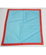 Oh Mint 3252207AQRED Mini Minky Blankie Colors Aqua and Red - £14.27 GBP
