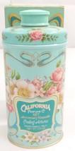 Vintage AVON California Perfume Co Trailing Arbutus Perfumed Talc Tin Bo... - $9.49