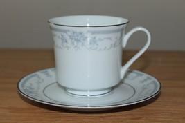 Vintage Sheffield Blue Whisper Porcelain Fine Cup & Saucer 1985 Made In Japan -D - $13.10