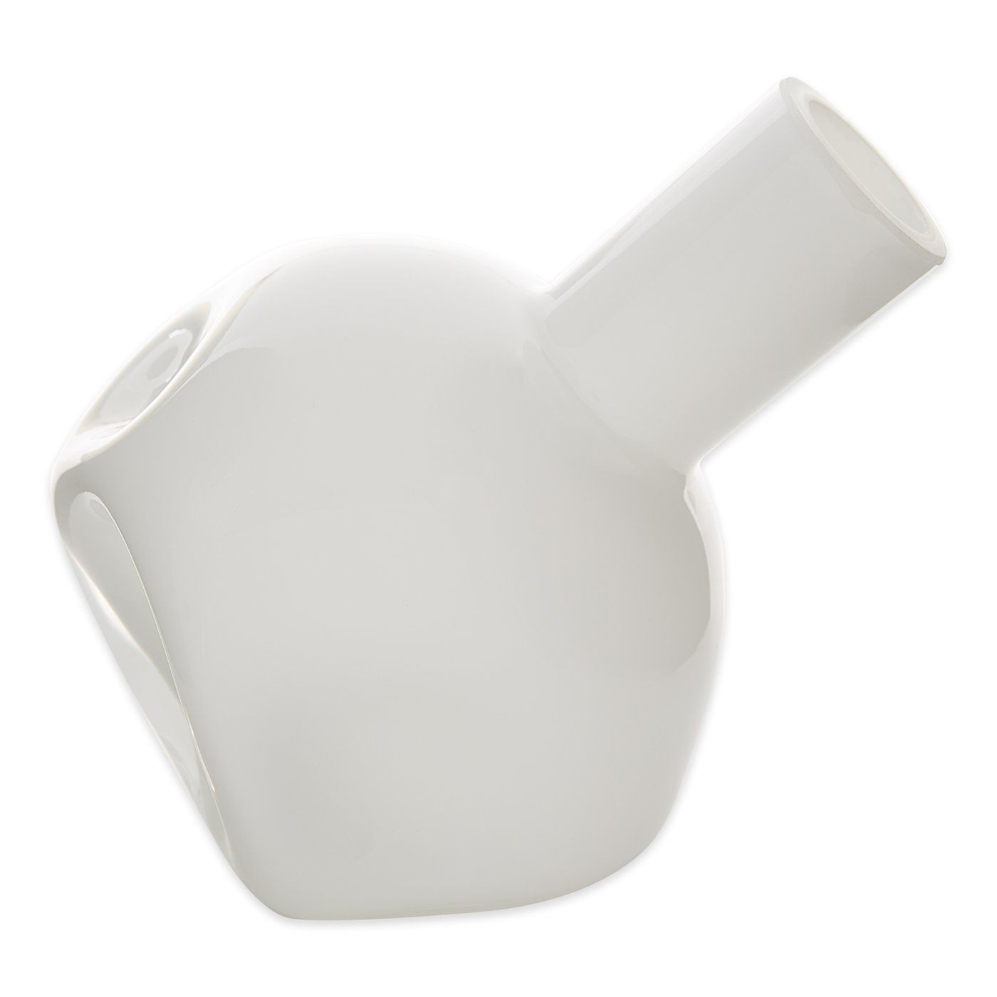 Primary image for Accent Plus White Abstract Vase