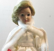 "DANBURY MINT  Porcelain Doll  10"" STORYBOOK  SNOW QUEEN - $34.65"