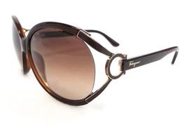 Salvatore Ferragamo Women's Sunglasses SF600S Brown 61-14-130 MADE IN IT... - $165.00
