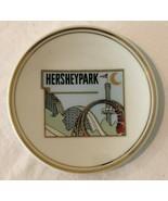 Hershey Park Amusement Park Vintage Collectible Souvenir Plate Gold Trim... - $24.99