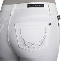 New ROCK & REPUBLIC Size: 4 Kasandra Embellished Bootcut Jeans - $59.99