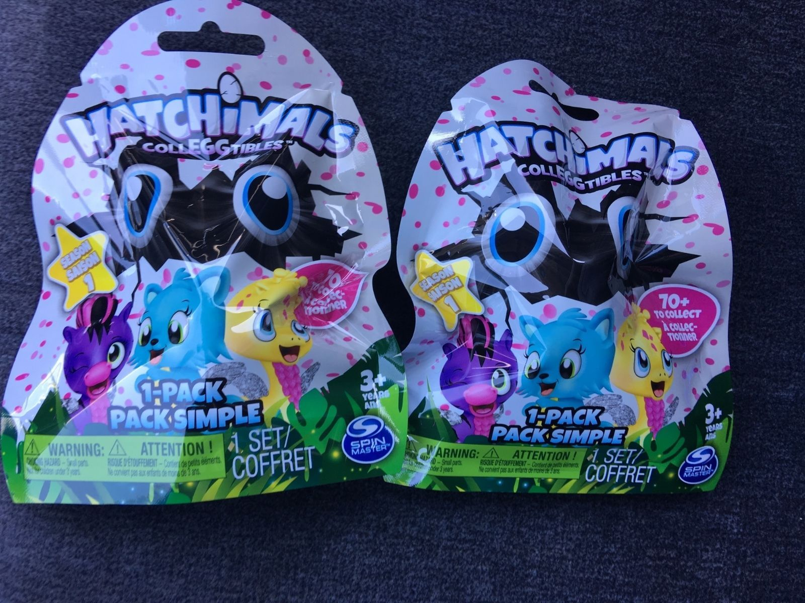 Hatchimals Colleggtibles Season 1 Blind Bags Lot Of 2 Other