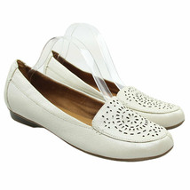 Naturalizer N5 Comfort Womens Sz 11 Beige Ivory Perforated Design Loafer... - $28.70