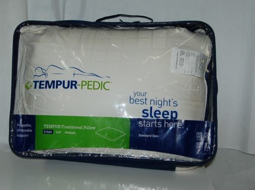 Tempur Pedic Standard Size Traditional Extra Soft Pillow