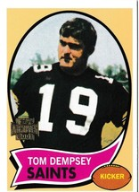 2001 Topps Archives Tom Dempsey New Orleans Saints #77 Football Card - $1.97