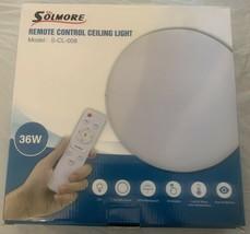 Solmore Remote Control Celing Light 36W Model - S- CL - 008 - $15.99