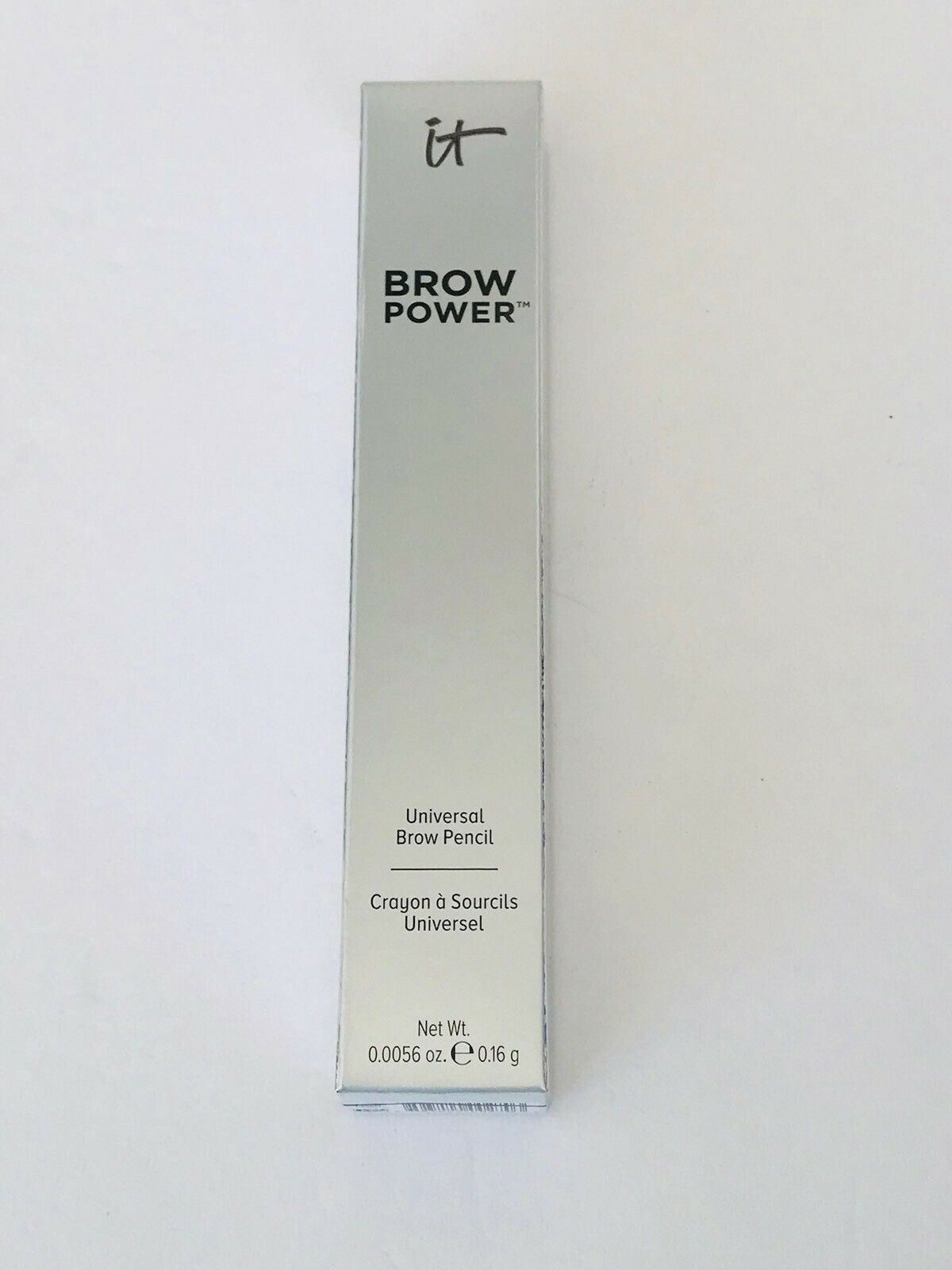Primary image for IT Cosmetics Brow Power Universal Brow Pencil Liner Universal Taupe FULL SIZE