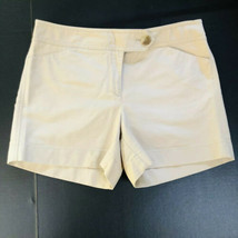 Ann Taylor Signature Fit Beige Shorts Size 8 Sits Lower In The Waist 4.5... - $13.86