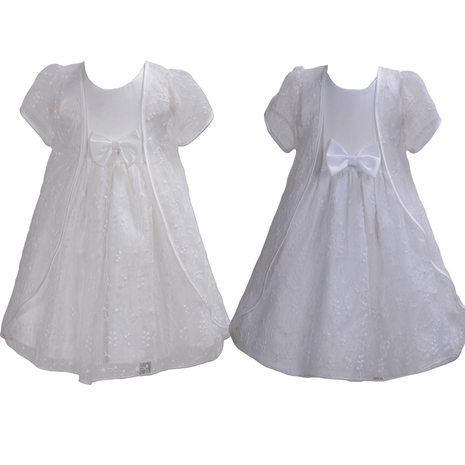 6c686f428 Baby Lace Christening Dress with Cape White and 50 similar items
