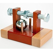 Bits and Pieces - Bolted Close Brainteaser Puzzle - Wooden and Metal Bra... - $22.34
